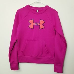 Under Armour Small Cold Gear Pink Sweatshirt